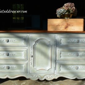 French Dresser in Milk Paint