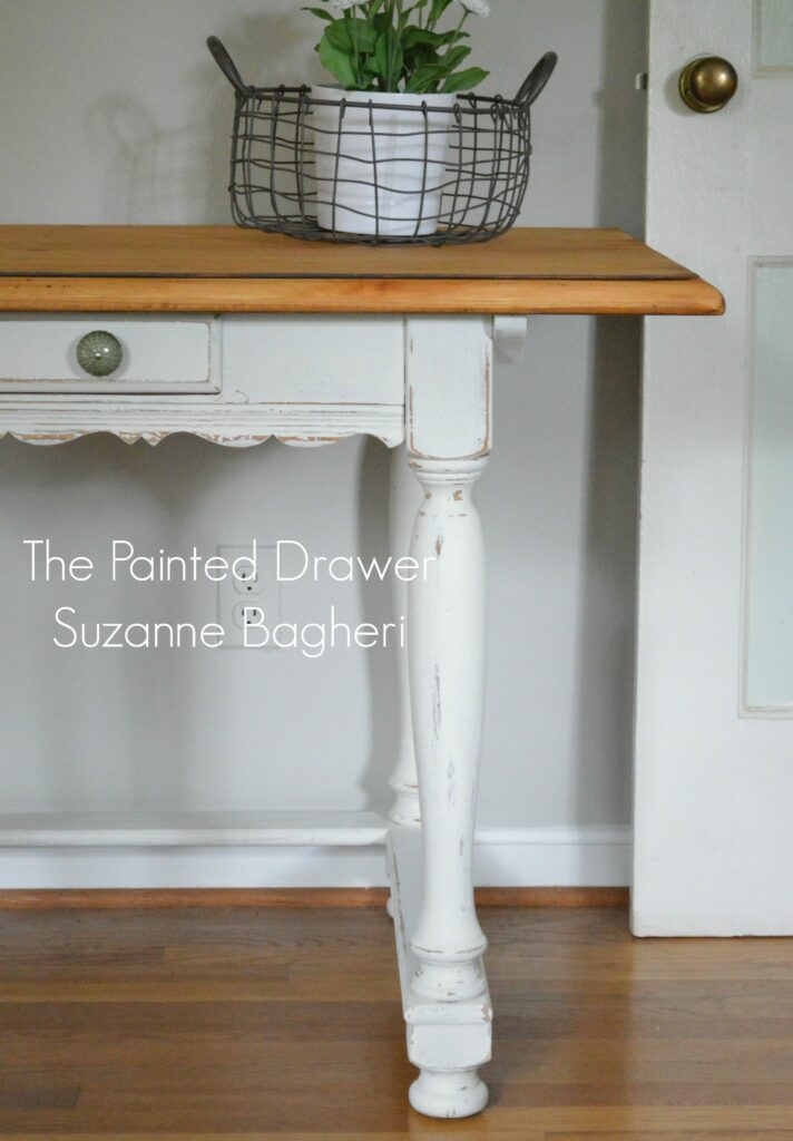 French Country Desk www.thepainteddrawer.com