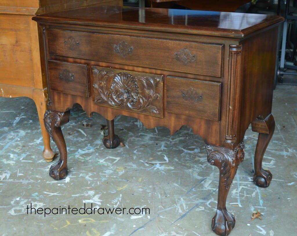 French Henredon Table www.thepainteddrawer.com