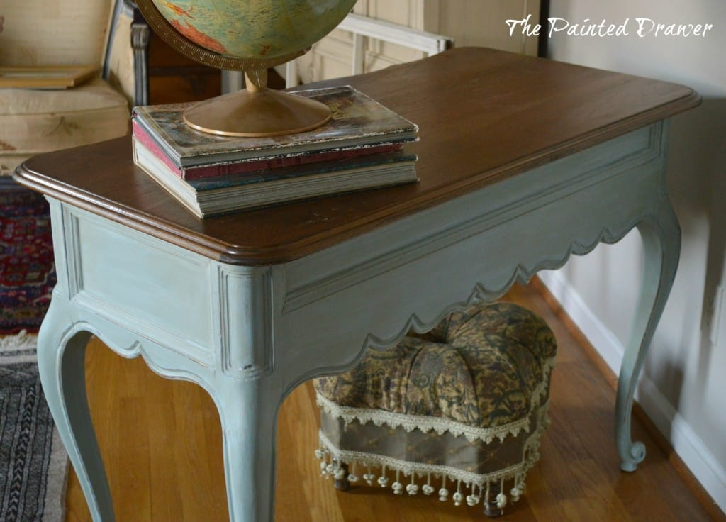 French Country Desk custom color