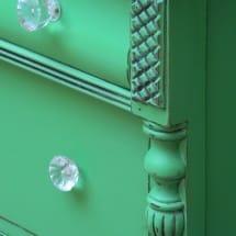 Annie Sloan Antibes Green Dresser