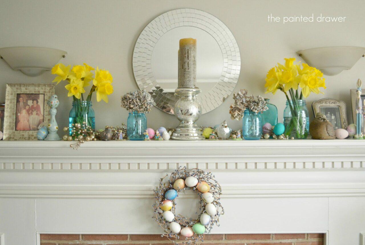 Spring Mantel Decorating Ideas : Nrys.info