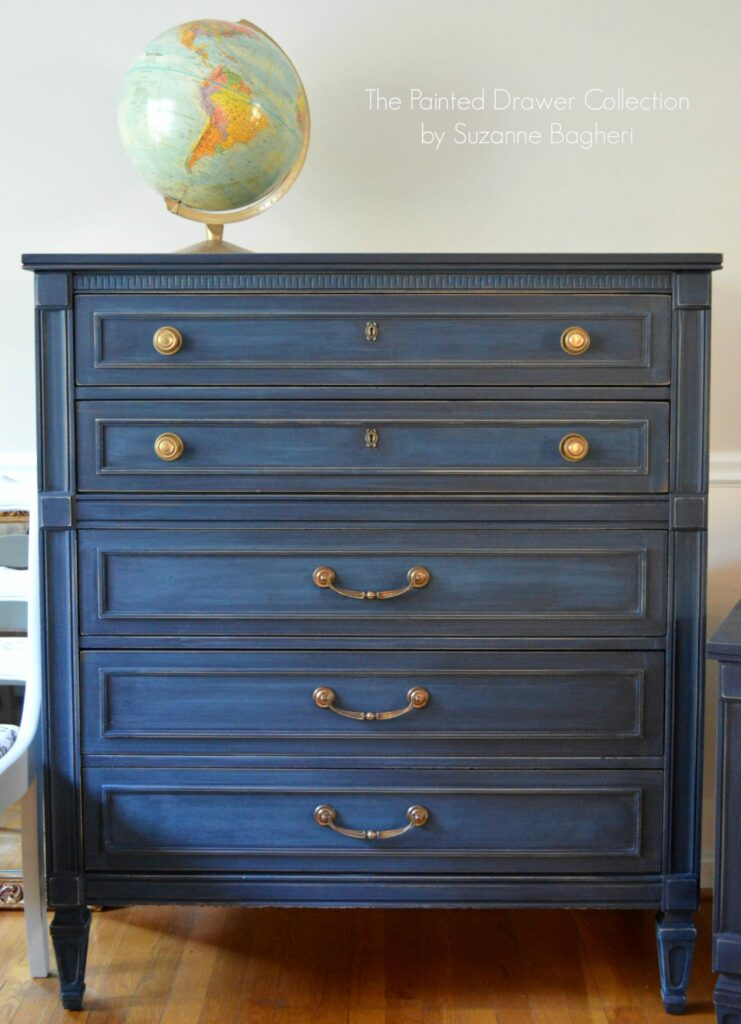 paint color highlight general finishes coastal blue the painted