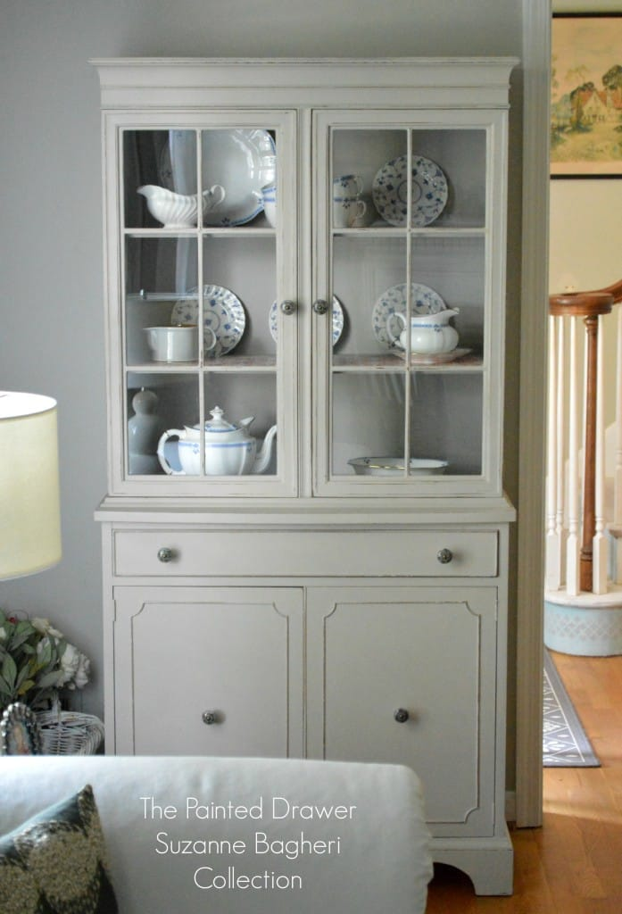 Greige Farmhouse Cabinet