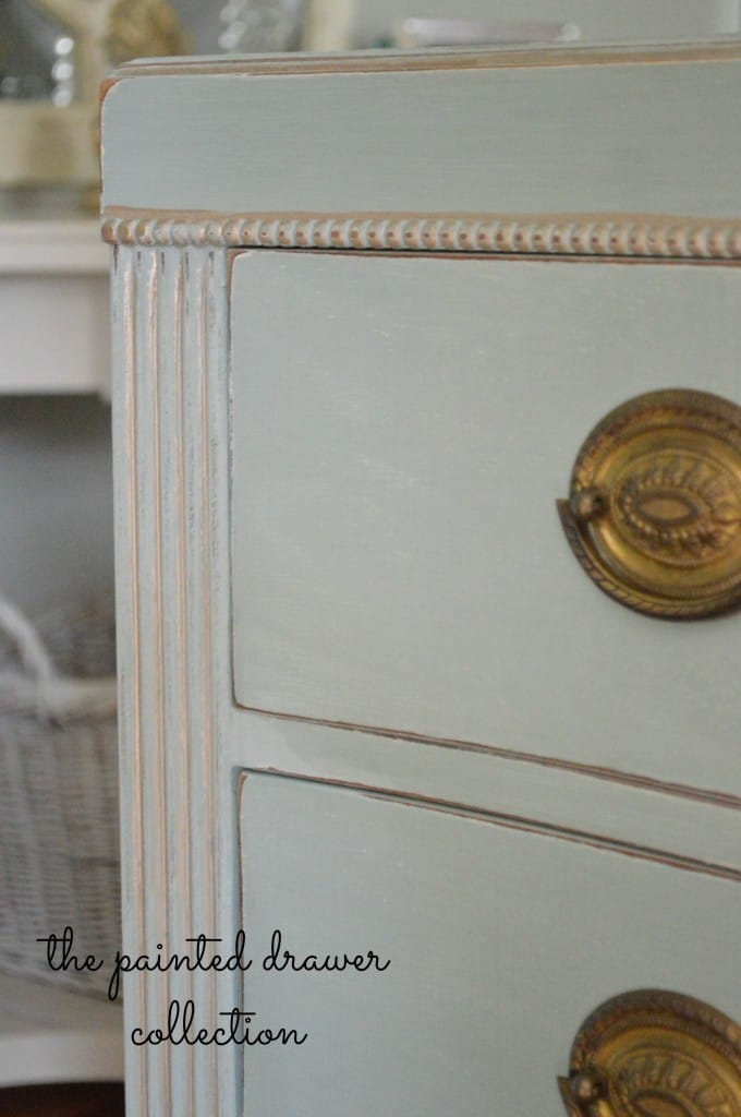 Duck Egg Antique dresser