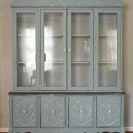 Vintage Bassett China Cabinet
