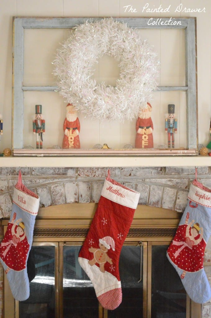 Mantle Christmas decor