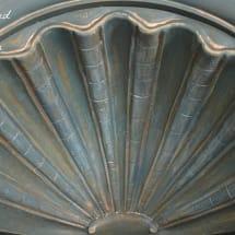 Drexel Shell Cabinet www.thepainteddrawer.com