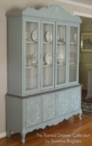 Persian Blue China Cabinet