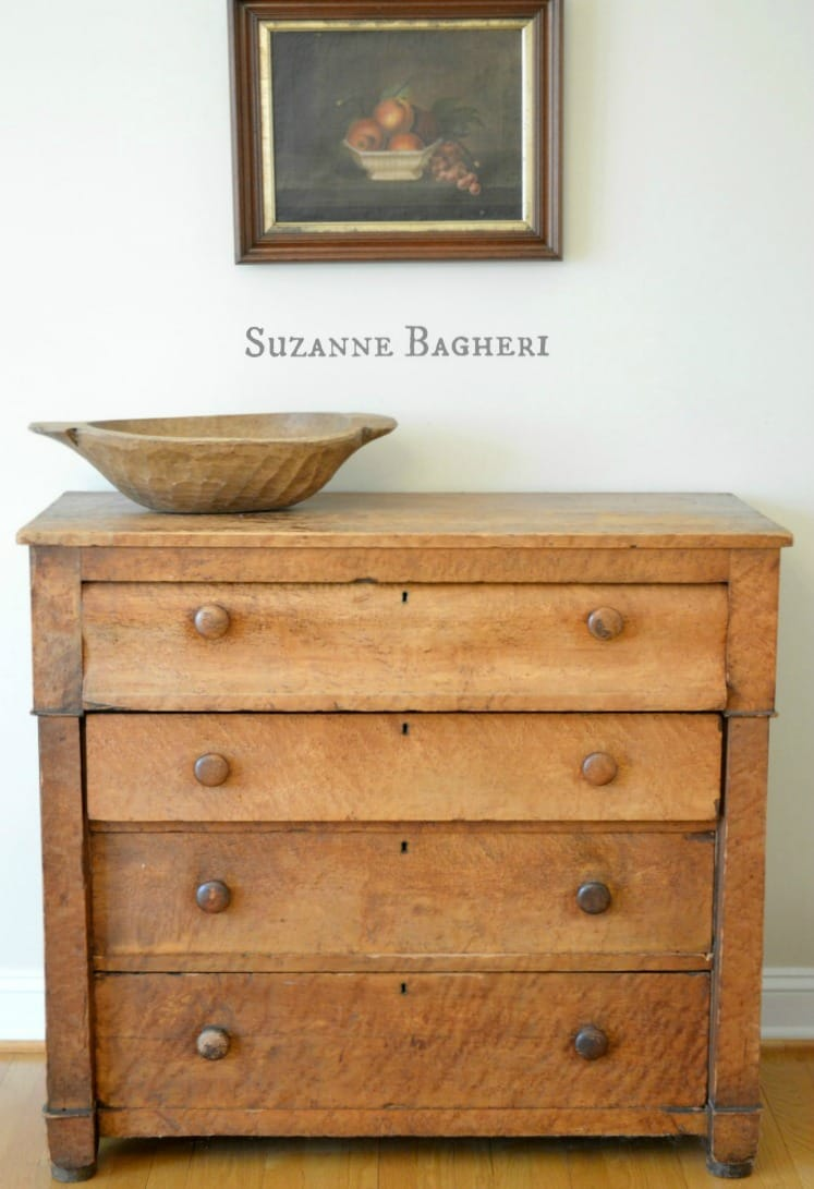 Farmhouse Dresser, Empire style chest of drawers