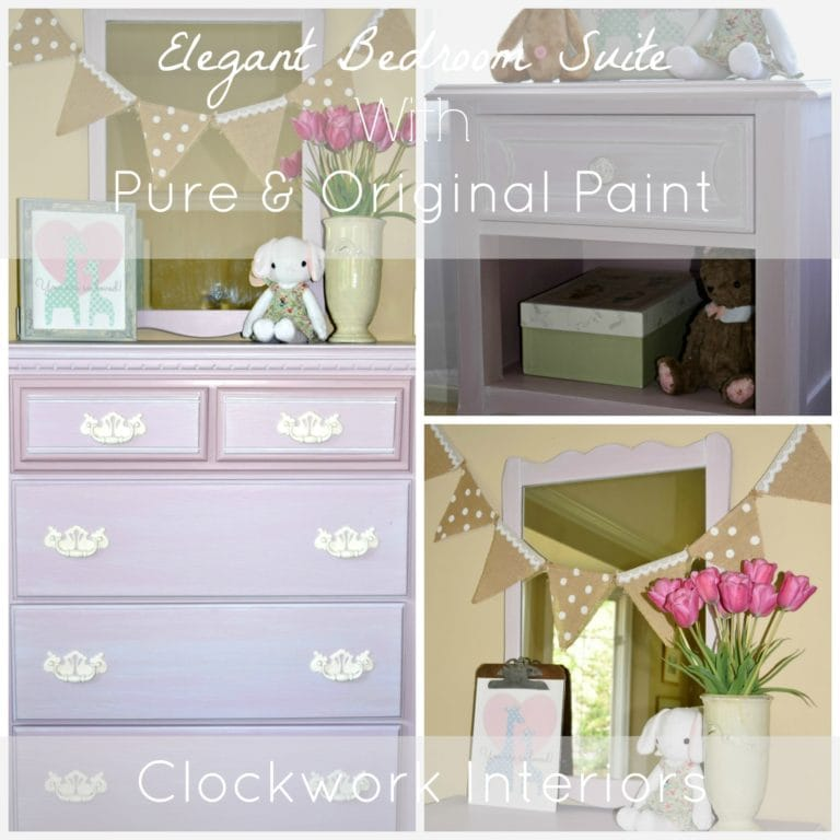 pale pink bedroom set
