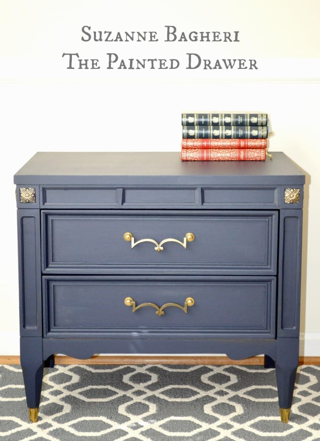 Coastal Blue nightstand