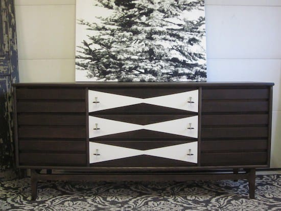 Two Toned MCM Dresser