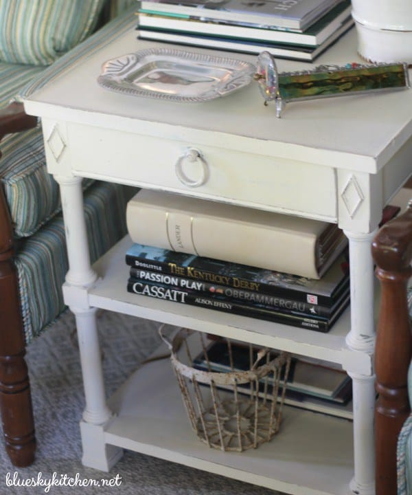 White Chalk Paint Table by Blue Sky Kitchen