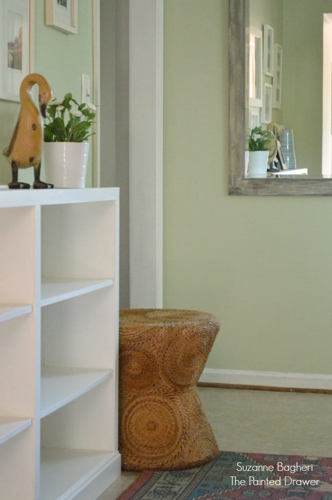 Hallway Built-In Thrift Store Bookcases
