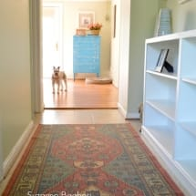 Hallway Makeover on The Painted Drawer