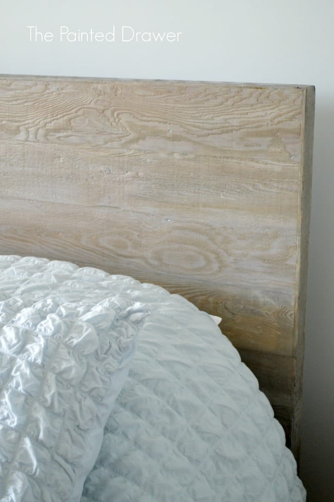 Beach House Whitewashed Headboard