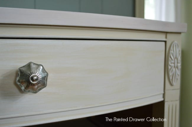 Old Ochre Painted Drawer