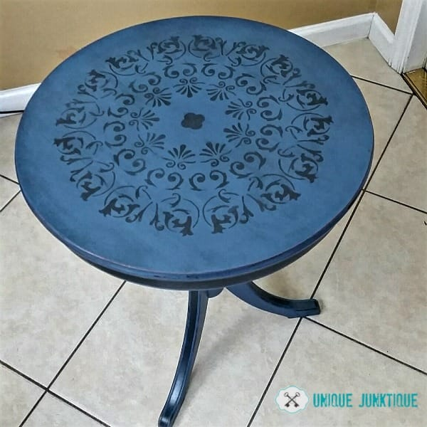 drum-table-top by Unique Junktique featured by The Painted Drawer