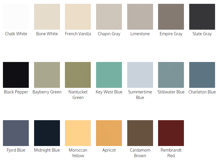 general finishes chalk style paint chart