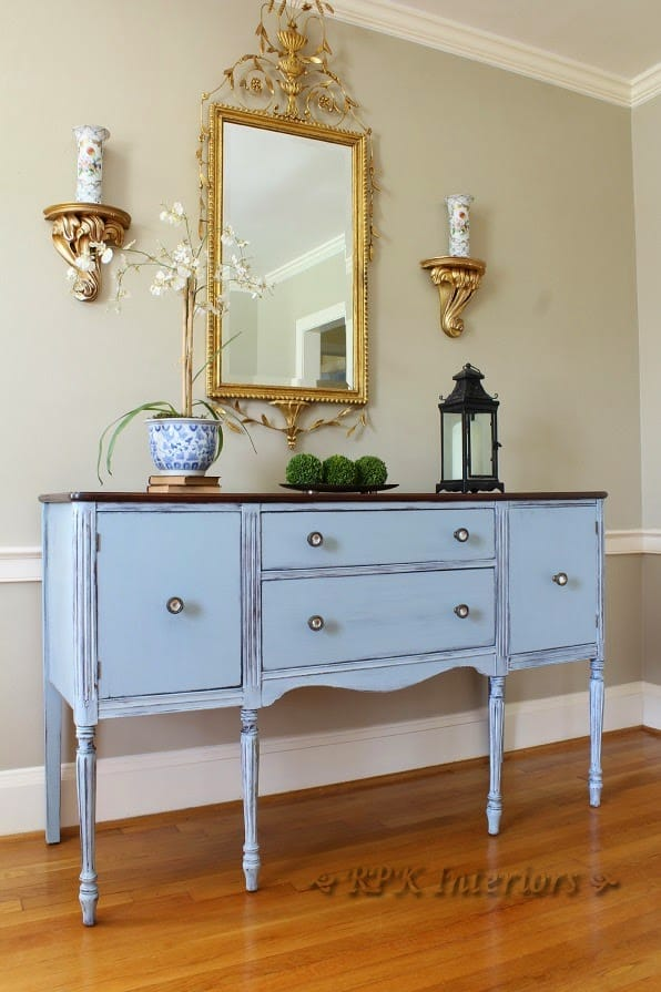 Beachy Blue Sideboard by RPK Interiors