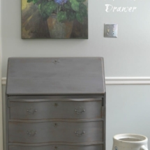 Driftwood Milk Paint General Finishes by The Painted Drawer