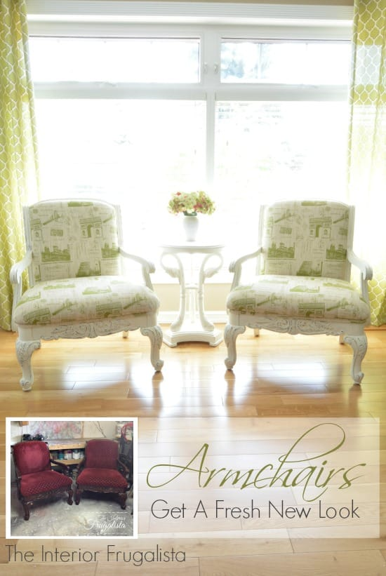 French Armchairs by The Interior Frugaista on Tell Us Tuesday