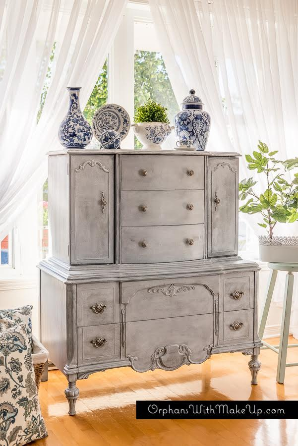 Grey Highboy by Orphans with Makeup featured on Tell Us Tuesday