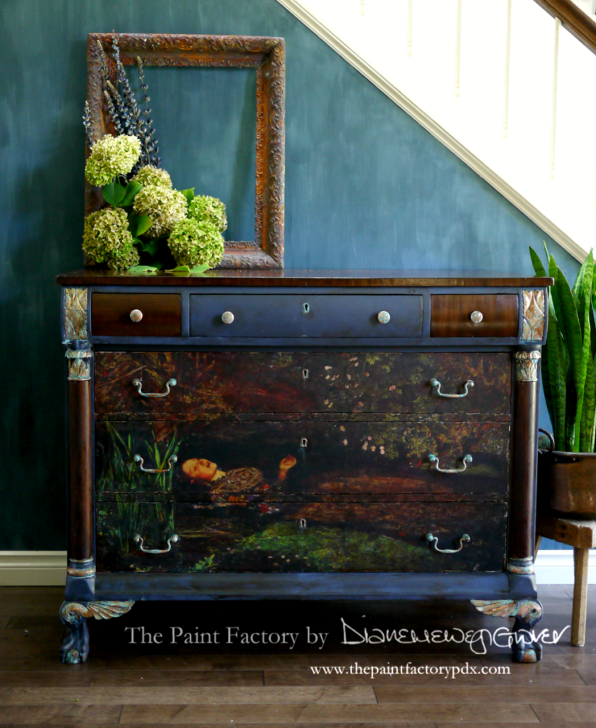 Painted Dresser by The Paint Factory