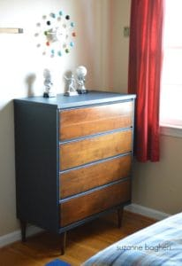 Mid-Century Modern Chest of Drawers Before and After