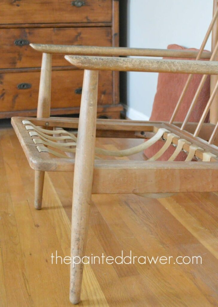 Mid-Century Modern Chair Makeover