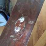 Wood Filler Is a Friend: How to Change Drawer Pulls