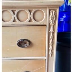 FFM: Crackle Finish Dresser