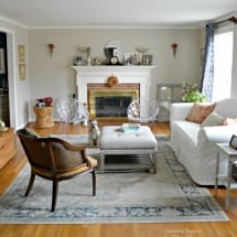 Living Room Accessible Beige