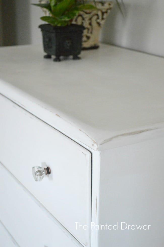 Annie Sloan Pure White Farmhouse Dresser