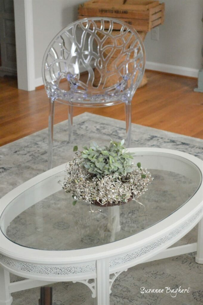 White Cottage Coffee Table