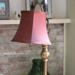 My Downton Abbey Lamp – Thrift Store Score