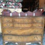 FFM: Gorgeous Vintage Bow Front Dresser