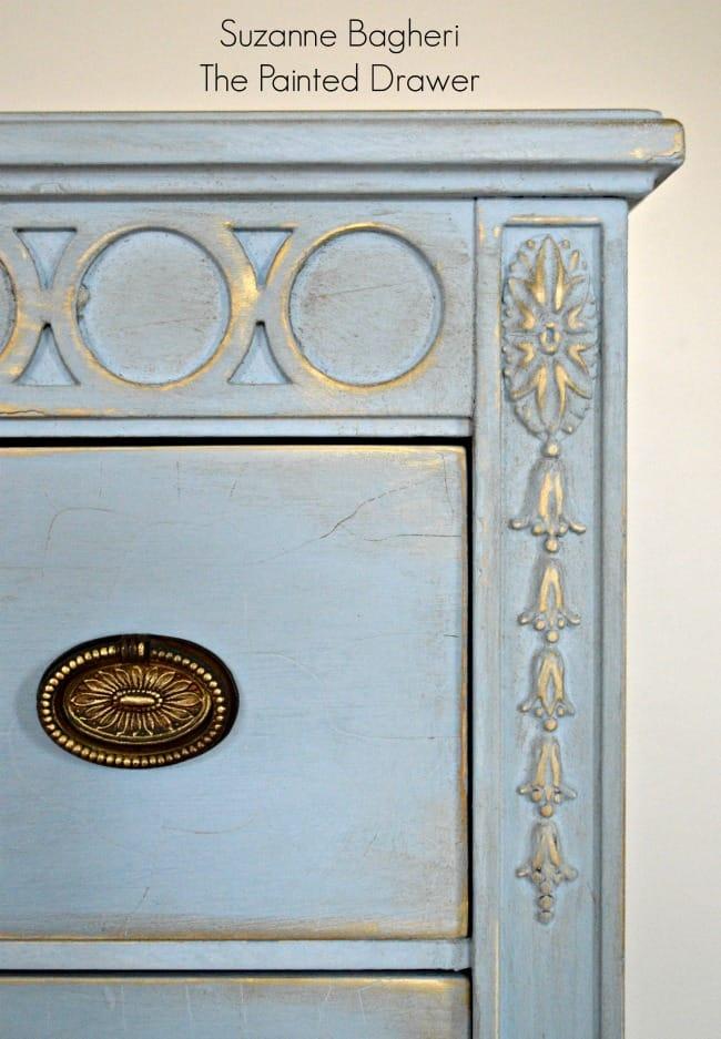 Annie Sloan Louis Blue Dresser