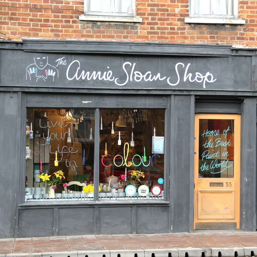 Annie Sloan shop Oxford