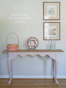Easter Pink Console Table Before and After