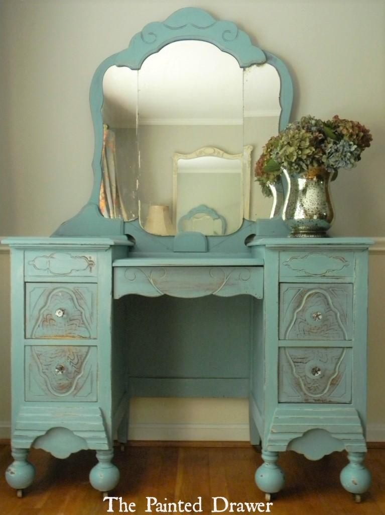 Annie Sloan Provence Vanity