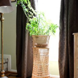 Boho Chic Vintage Plant Stand Score and More!
