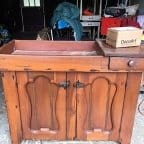It's a Wash! Vintage Dry Sink Before and After