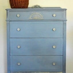 Old Violet Chest – Before and After