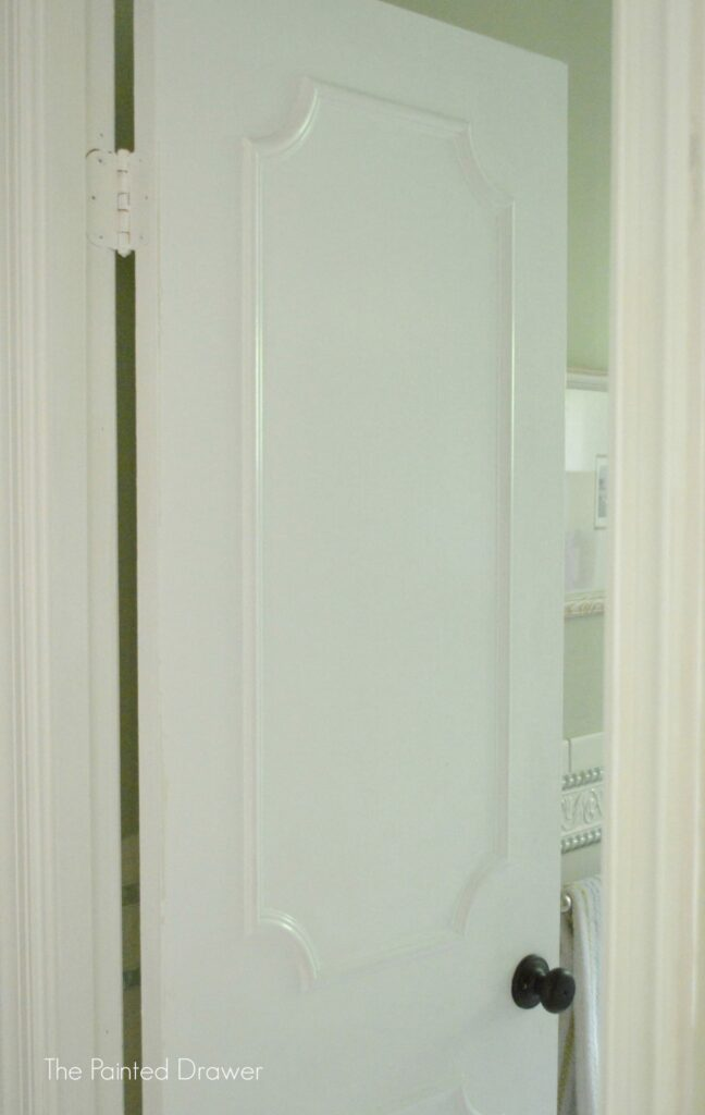 Painting all of the trim and doors a bright white immediately brightened and transformed our space. On the doors I used a strong primer to seal the ... & Remodelaholic | Make a Flat Door Look Like a Paneled Door